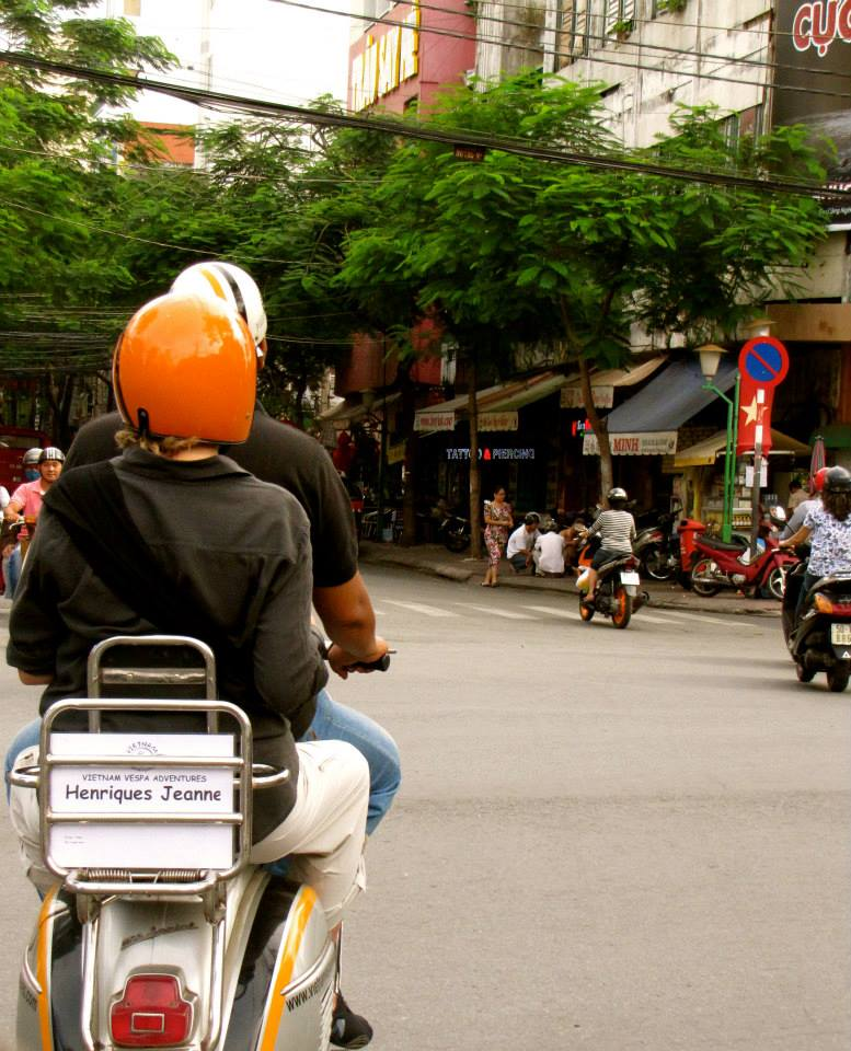 A great blog from Henriques Jeanne about our tour - Vespa Adventures