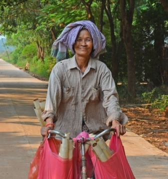 Cambodian scarf