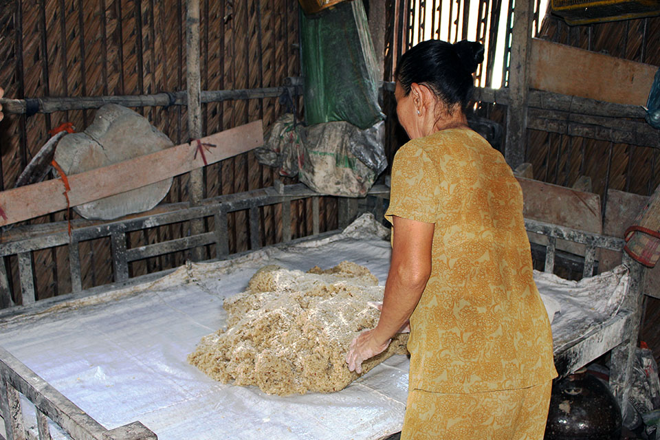 rice wine distilling process