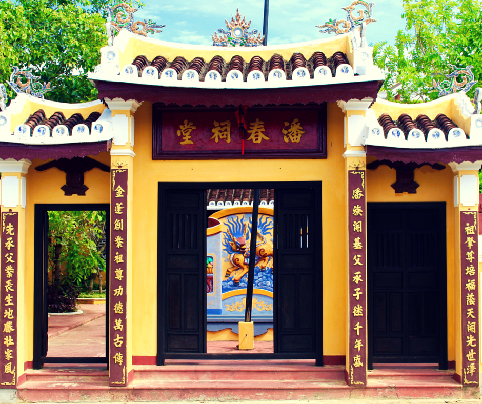 Visit the Hoi An Family Temple with the Vespa Adventures Day Tour.