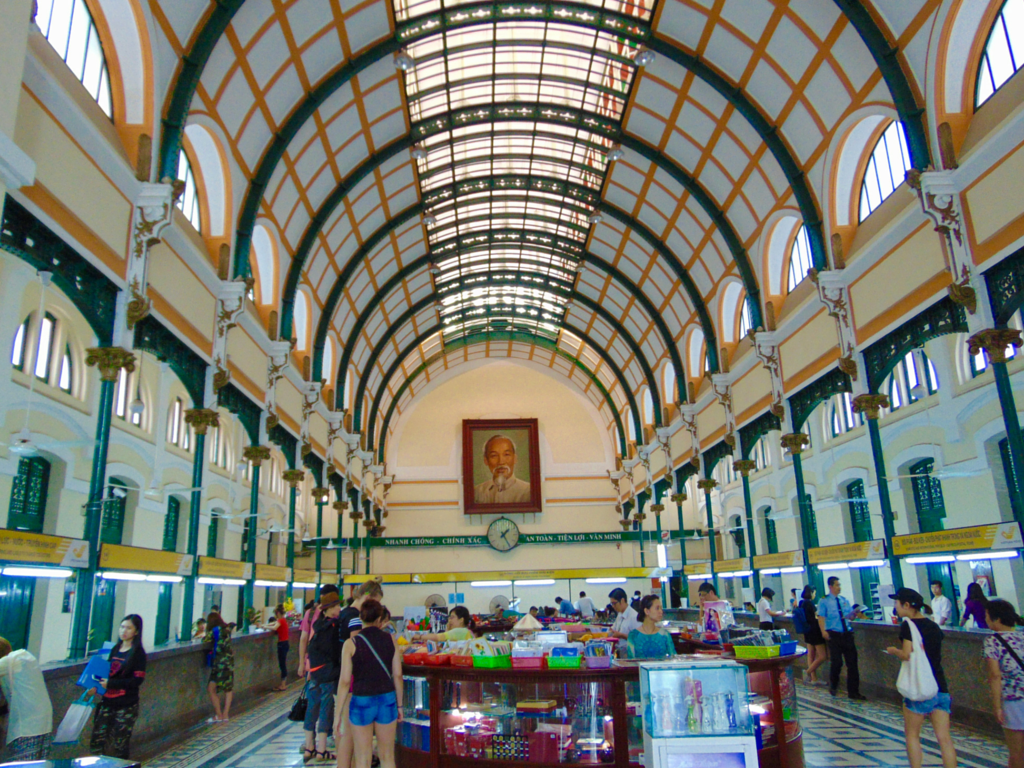 Must see Ho Chi Minh City Post Office