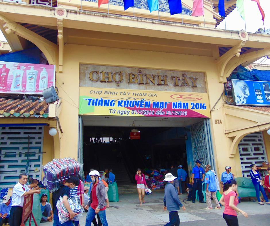 1.Binh Tay Market
