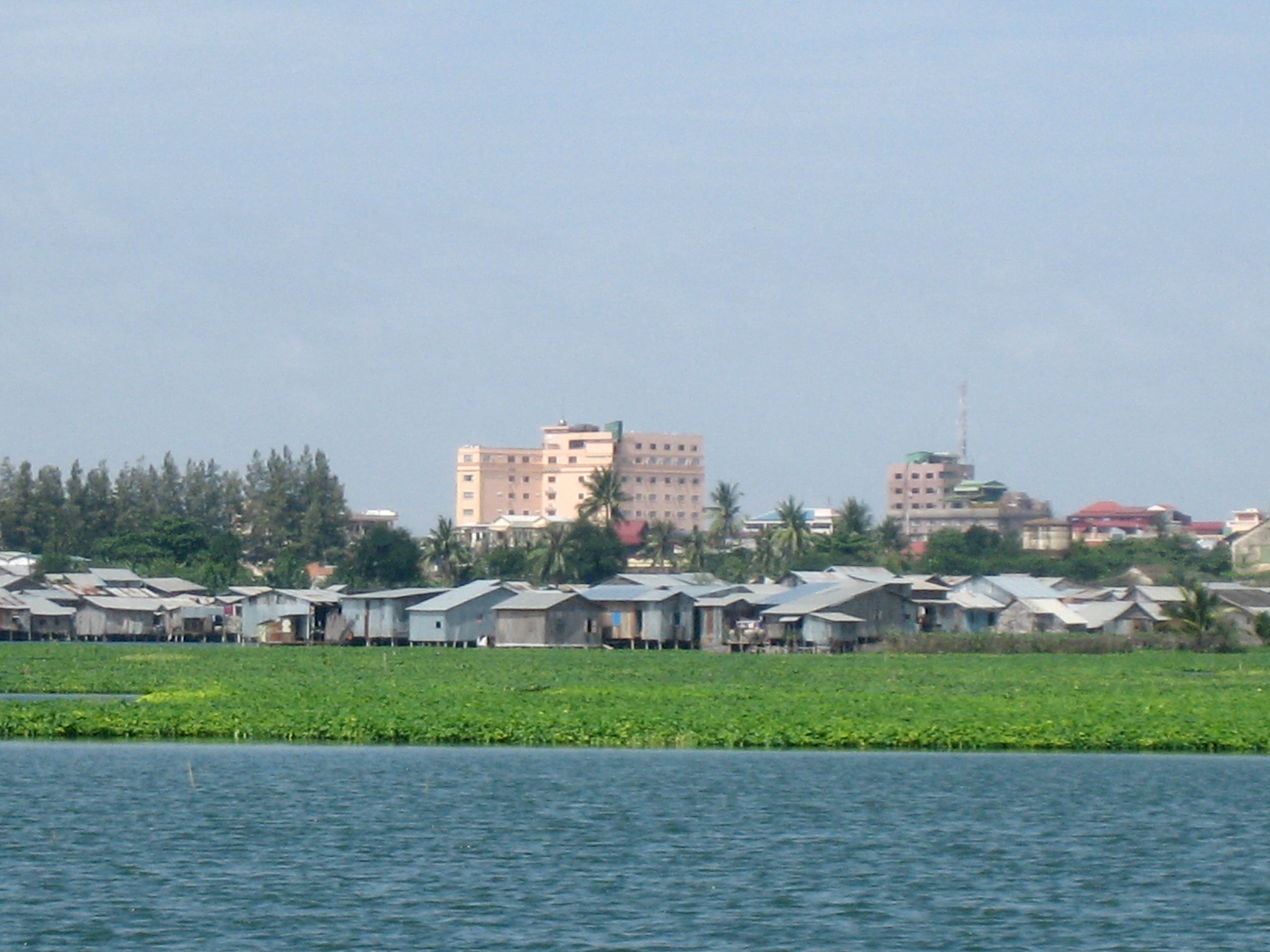 Boeung Kak Lake before the evictions.