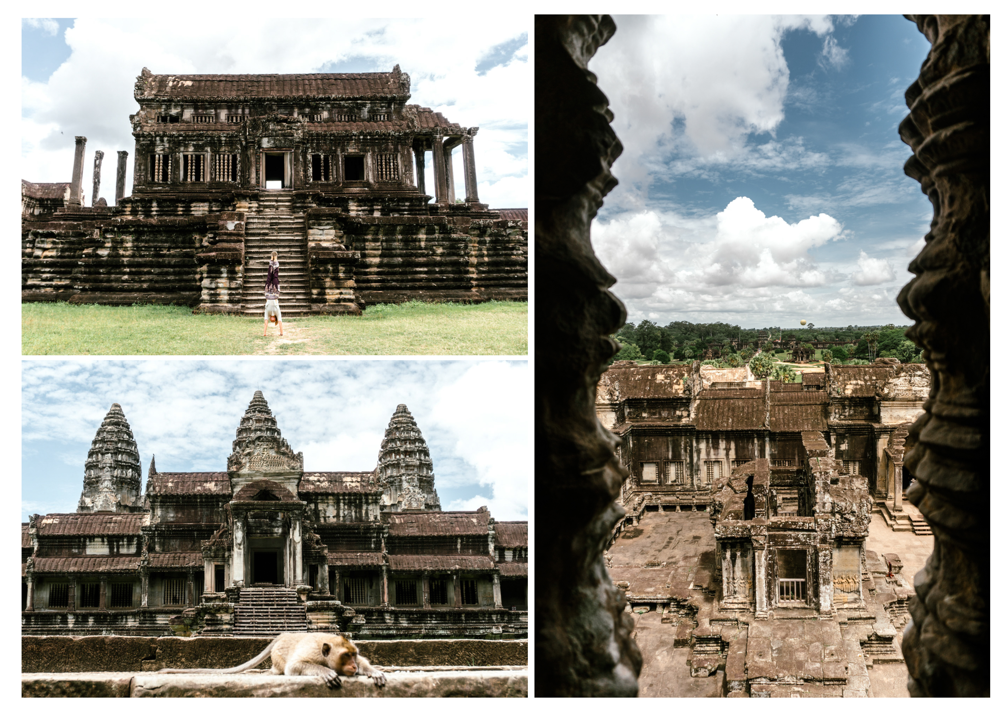 East Route of Angkor Wat Temple