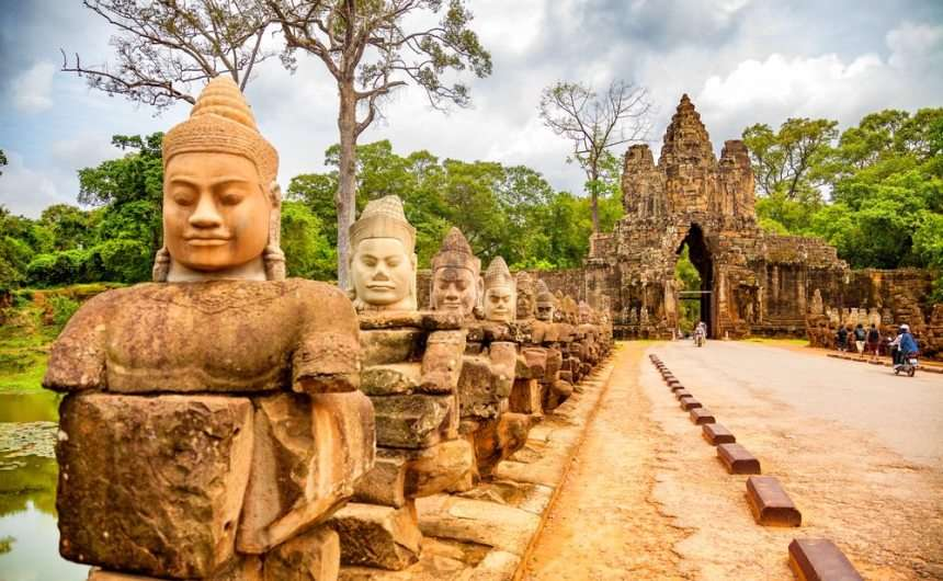 Cambodia tours Vespa Adventures