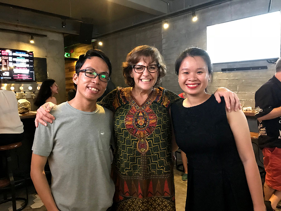 Earth Day 2018 Vietnam Sach & Xanh Vespa Adventures