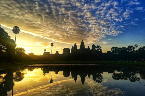 Our Angkor Sunrise Vespa Adventures Siem Reap