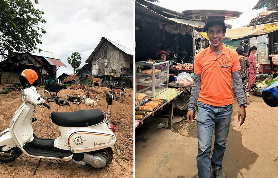 Phnom Penh Countryside Tour Vespa Adventures