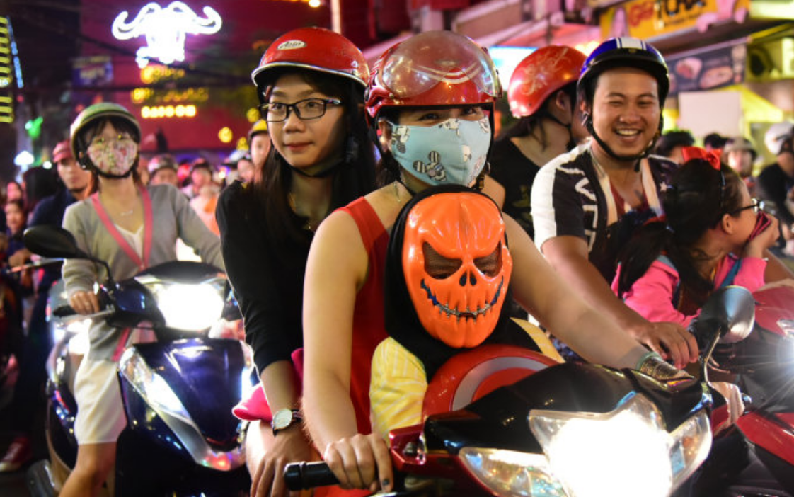 Vietnam Halloween Vespa Adventures