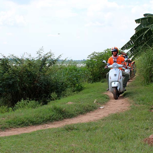 Phnom Penh Countryside Tour Vespa Adventures