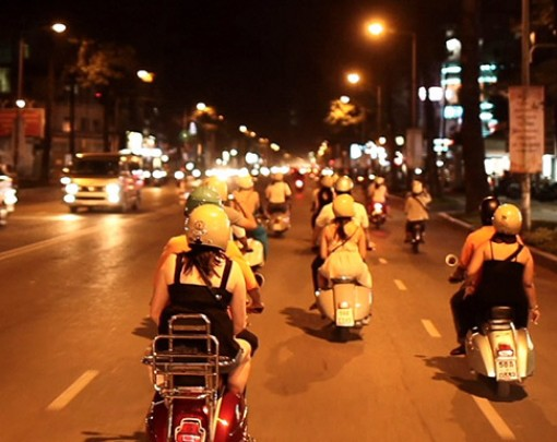 Saigon Vespa night tours